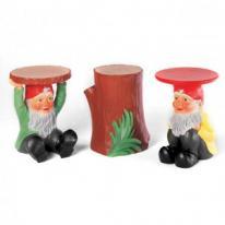 Kartell Gnomes - parodia del clásico de gnomo de jardín de Philippe Starck