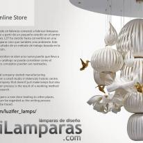 LZF Lamps única en diseño