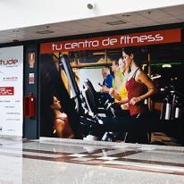 Gimnasio Attitude Fitness: diferentes especificaciones de iluminación para diferentes necesidades