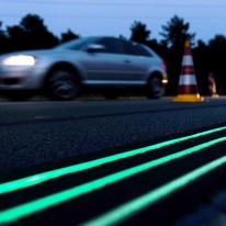 Smart Highway, una autopista luminiscente en Holanda