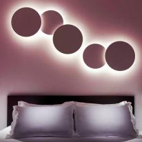 Puck Wall Art, un eclipse solar hecho lámpara