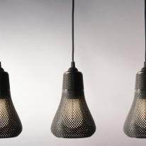 Una impresora 3D crea la lámpara Kayan