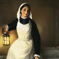 """La lámpara de Florence Nightingale, """"la señora de la lámpara"""", entra a subasta"""