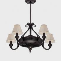 Fandelier de Savoy House, lámpara, ventilador e ionizador de aire