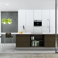 Lámparas oliva, iluminación natural y colorista