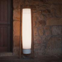 Inn Side de B.Lux la luminaria de aire sesentero de Gemma Bernal