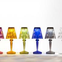 La sofisticada lámpara Battery de Kartell