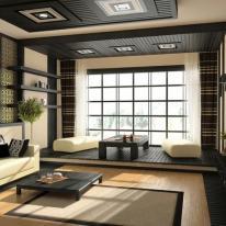 Decoración Zen y lámparas de diseño