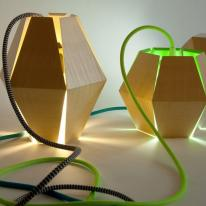 Lámparas de papel, el origami