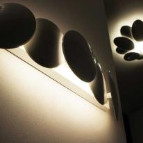 Obolo de Milán Iluminación recrea el infinito