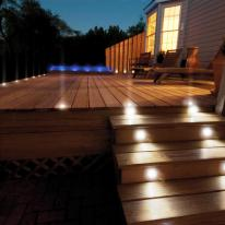 Iluminación de noche para jardines, áticos y terrazas
