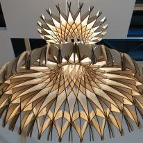 Dome de Bover, fragmentos de luz entrelazados