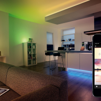 Bombillas LED Philips Hue: control desde tu móvil