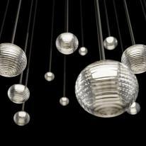 Lámpara colgante Algorithm de Vibia, Proyecto Lighting (2015)