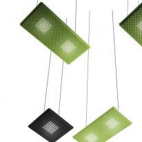 EggBoard, las luminarias de diseño de Artemide que absorben el ruido
