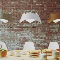 Lámparas de madera, estilo nórdico para tu hogar