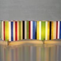 Luminarias de Arturo Alvarez con aire Pop