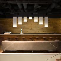 Colección Curtain de Vibia, una cascada de luz