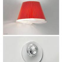 Choose Aplique + LED Estructura gris Aluminio, Difusor