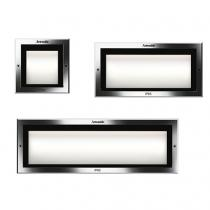 Faci 12 Encastré Applique LED 3000K Chrome