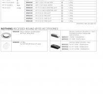 Nothing Accessoire anneau en plástico ø215mm blanc