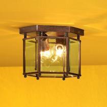 Hall C2 Plafón Cromo 2xE14 6W (LED) o 40W (HA)