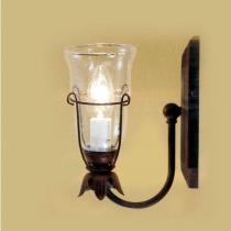 Jean W1 Wall Lamp Lacquered rústico 1xE14 6W (LED) o 40W