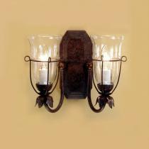 Jean W2 Wall Lamp Lacquered rústico 2xE14 6W (LED) o 40W