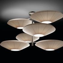 Siam - 6 luces (Solo Estructura) Lámpara Colgante sin