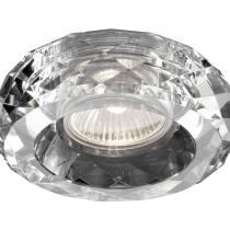 3039 Halógeno Empotrable de Cristal 1 luz Redondo Gu10