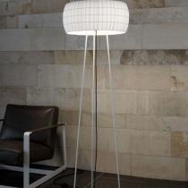 Isamu lámpara of Floor Lamp lampshade black