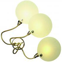 Cartaflex 3 Wall lamp/ceiling lamp Nickel/Copper