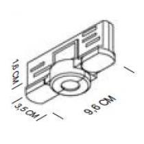 Adaptador Mecánico Eléctrico blanco