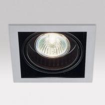 Minigrid in 1 50 hi Frames Empotrables GU10 1x50w blanco