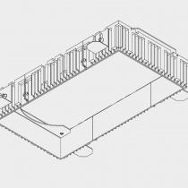 Grid IN Trimless 2 (Accesorio kit de montaje Grande)