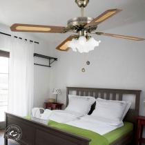 Faro Hawai Ventilador con luz Oro 4 Palas 33152 Lámparas
