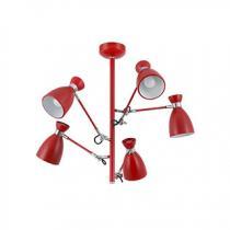 Retro ceiling lamp net 5l e14 40w