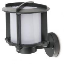 Cross 1 Wall Lamp Outdoor 1L Grey Dark E27 60w
