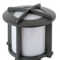 Cross 1 Lantern Outdoor Small Grey Dark E27 60w