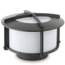 Cross 1 Lantern Outdoor Large Grey Dark E27 60w