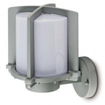 Cross 2 Wall Lamp Outdoor 1L Silver E27 20w