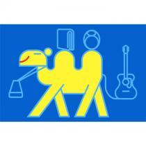 Baby zoo camel blue