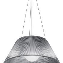Romeo Moon S2 Lámpara Colgante ø50cm 150W E27 Blanco