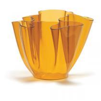 Cartoccio Jarrón 30cm Cristal natural Amarillo