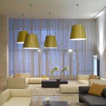Amax Pendant Lamp ø109x88x300cm 3x20w E27 (FL) Golden