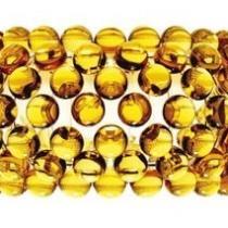Caboche Aplique Mediano Amarillo Oro