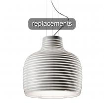 Behive Pendant lamp Diffuser replacement White