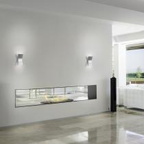 Bend Aplique 20,5cm LED 4,5w 1 haz de luz Aluminio Ecobright