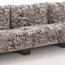 Pop sofa modulaire structure noire 2 palzas