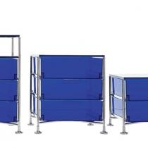 Mobil container fixed 6 drawers 49x101cm